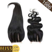 Thick And Healthy Ends Cuticle Three Part Lace Closure