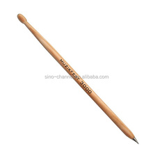 Hot Sale Cheap Fancy Wooden Drum Stick Pen