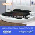 6804# foshan muebles de diseño redondo plataforma de la cama
