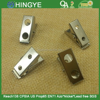 26mm two holes metal clips - D047