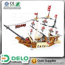 children toys wholesale china plastic building blocks ship models to assemble DE0196326
