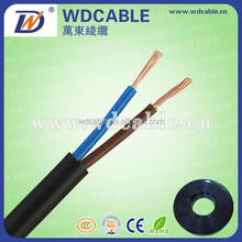 China BC stranded 2 cores 3 cores 4 cores flexible copper power cable