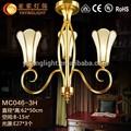 Chinois latern lustre., laiton antique lampe statue, laiton lampe suspendue