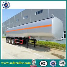 Chengda brand 42CBM 3 axles fuel tankers for sale/oil tank semi trailer/tank trailer/tanker