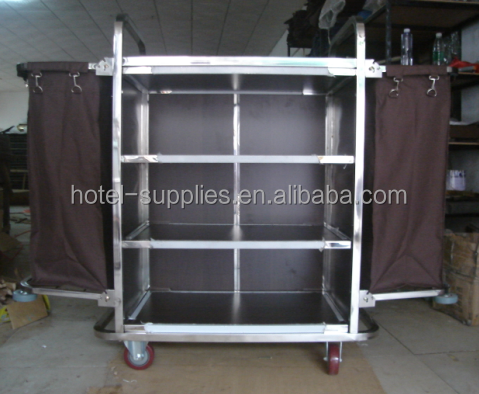 Hotel trolley room service cart for Hotel room service cart