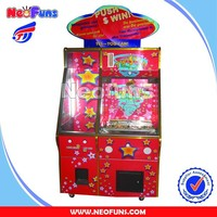 NF-C03 2 players prize coin pusher , kids coin pusher game machine , game machine coin pusher hot sale