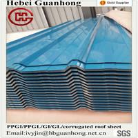 Any size gi ppgi corrugated metal steel roof sheet pp corrugated sheet