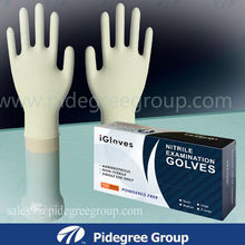 Cleanroom,workshop disposable nitrile gloves approved by CE,FDA