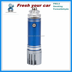 high performance 12v portable smoking removing car air cleaner