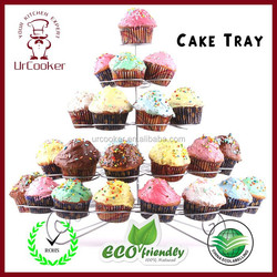 Cake stand,5-layer cake stand,holds 41 cupcakes