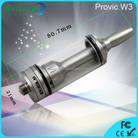 High quality provic W3 reduildable atomizer electronic cigarette walmart