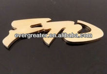 Customized metal car badge car badges emblems made in China