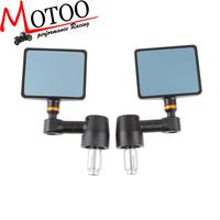 Motoo - SPY-Q Motorcycle Mirror Bar End CNC Aluminum for KAWASAKI Z1000