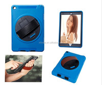 Hand holder Case for iPad Air With Armband , Luxury waterproof Case For ipad Air2 Wholesale