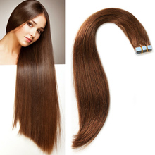 wholesale doubel sided stick tape hair extensions , Raw Unprocessed human hair tape in hair extentions
