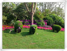 artificial grass animal / fake cow / topiary animal for landscaping