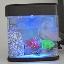 mini fish tank wiht battery and USB charging