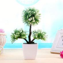 Mini Rattan Round Basket Bike Decorative Artificial Flower Pot With Rose Bouquets Home Decoration Display Bonsai
