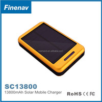 New Original High capacity 13800mah solar charger for mobilephone