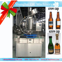 Automatic crown cap beer washing filling capping machine (CC)