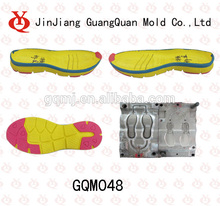 eva y suela de goma molde que hace gqm048