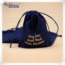Velvet bag for gift wholesale promotion