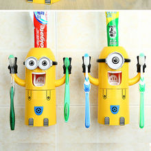 ABS new trendy minion toothpaste dispenser china product price list