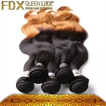 Cheap hair piece asian hair two tone hair extension