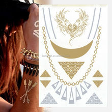 Needle Tattoo Tattoo Marker Pens Vintage Stretch Tattoo Henna Choker Hippy Necklace