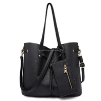 2015 Simple Style PU Leather Women Hobo Bucket Bag Handbag For Lady and Girl,Cheap Wholesale Price,made in Guangzhou China