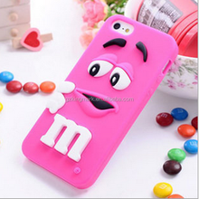 Fashion Stock 3d Silicone Case For iP 6, for iP6 Cases
