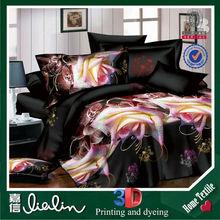 korean bedding set /Jacquard satin drill Bedding Set 3D comforter and bed sets