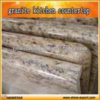 g682 double bullnose granite counter top