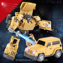 2015 New toys for kids! WEIJIANG TOYS Car transforM robot toy