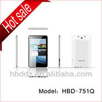 """Low price!!!!7"""" ultra thin IPS screen A20 dual Core Android 4.2 HDMI WiFi smart tablet pc with front and back"""