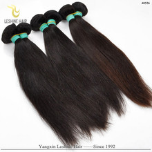 New Fashion Bulk Buy From China Year's Best sale Double Sewing 16 inches straight indian remy hair extensions