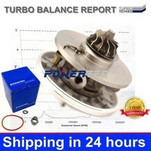 cartridge turbo parts 753420-0004 753420-0002 turbocharger core chra for Mazda 3 1.6DI DV6TED4 80KW 9650764480 Y60113700G