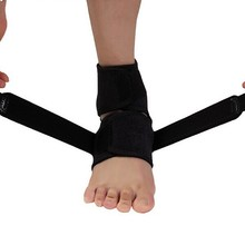 AOFEITE Hot Sale Breathable Protective Neoprene Ankle Support Wrap Ankle Brace One Size Black