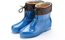 2015 New style soft rubber rain boots for adults