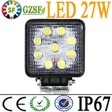 Factory wholesale 27W led driving light for jeep SUV UTV 4WD