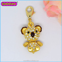 Wholesale animal pendant fashion gold charm for necklaces