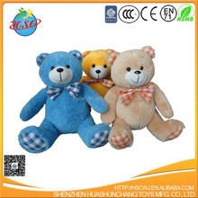 factory supply hot sell 30cm plush teddy bear soft animal toy