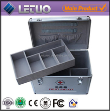2015 new products aluminium tool case with drawers portable aluminum tool box medical box with lock