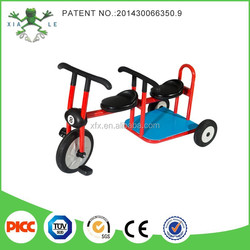 Hot sale double seat children tricycle / baby trike / kids 3 wheel tricycle