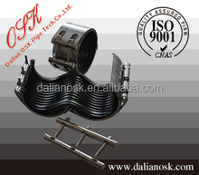 RCH-S/S pipe clamp fitting,pipe clamp types,pipe connector coupling stainless steel