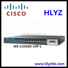 WS-C3560X-24P-L Cisco switches 3560X 24 Ports Cisco network switches