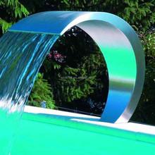 Modern Art Metal Decoration Water Fountains Sculpture For Outdoor