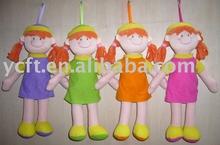 08246 muñecas de tela, dulces muñecas, muñecas de los niños