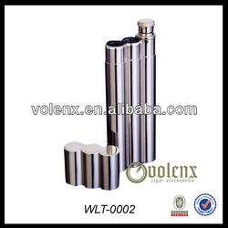 Stainless Steel Cigar Case Flask Wholesale
