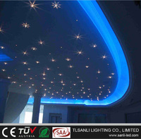 10W LED fiber optic night lights for twinkle star ceiling